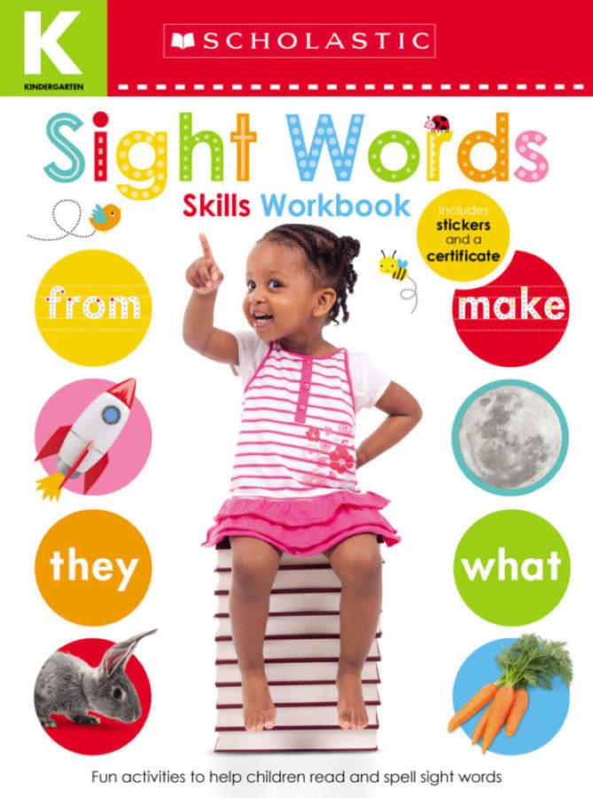 Scholastic - Kindergarten Skills Workbook: Sight Words