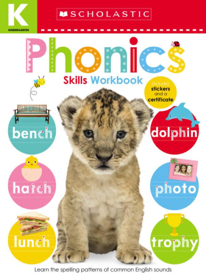 Scholastic - Kindergarten Skills Workbook: Phonics