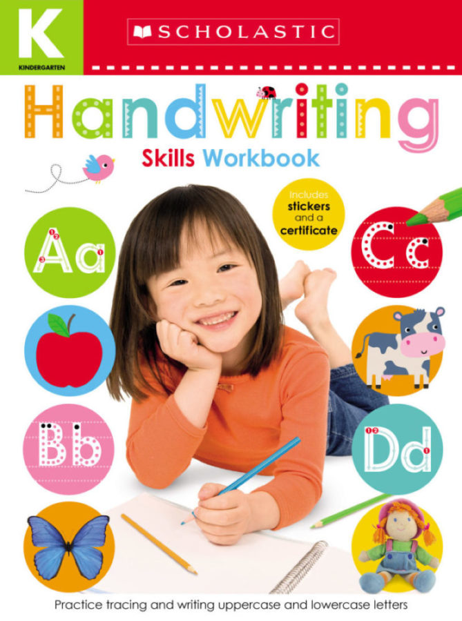 Scholastic - Kindergarten Skills Workbook: Handwriting