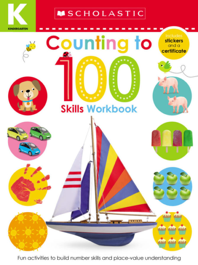 Scholastic - Kindergarten Skills Workbook: Counting to 100