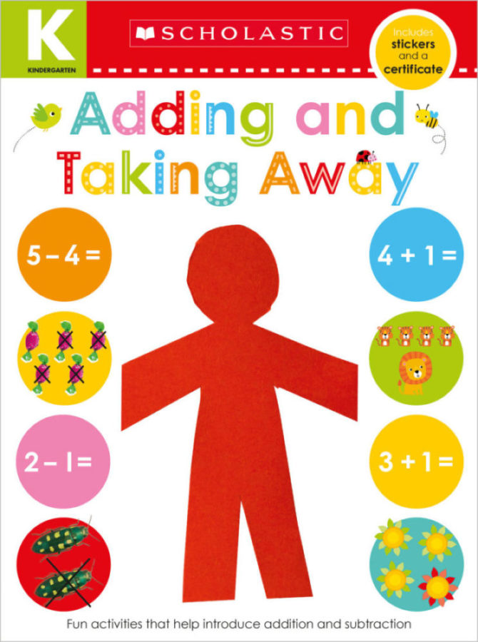 Scholastic - Kindergarten Skills Workbook: Addition and Subtraction