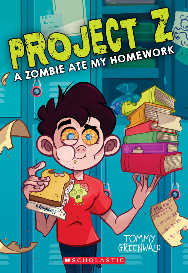Tommy Greenwald - Zombie Ate My Homework, A
