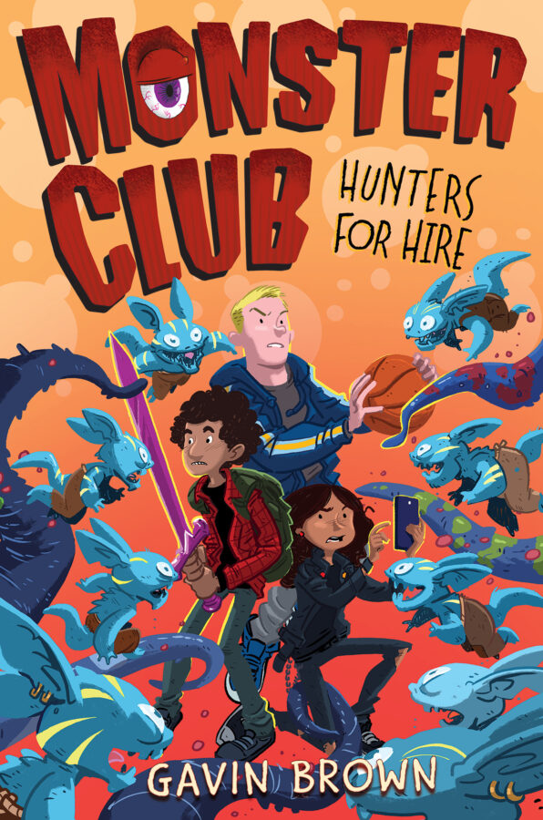 Gavin Brown - Monster Club: Hunters for Hire