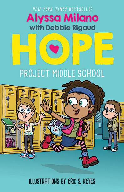 Alyssa Milano - Project Middle School
