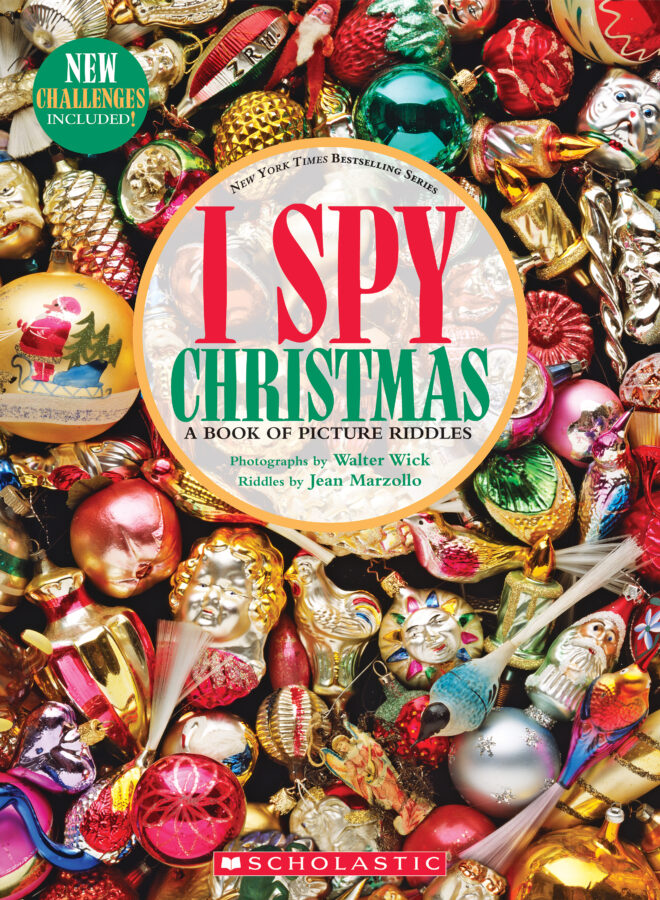 Jean Marzollo - I Spy Christmas: A Book of Picture Riddles (reduced trim)