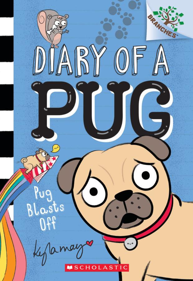 Kyla May - Pug Blasts Off