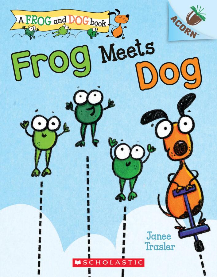Janee Trasler - Frog Meets Dog
