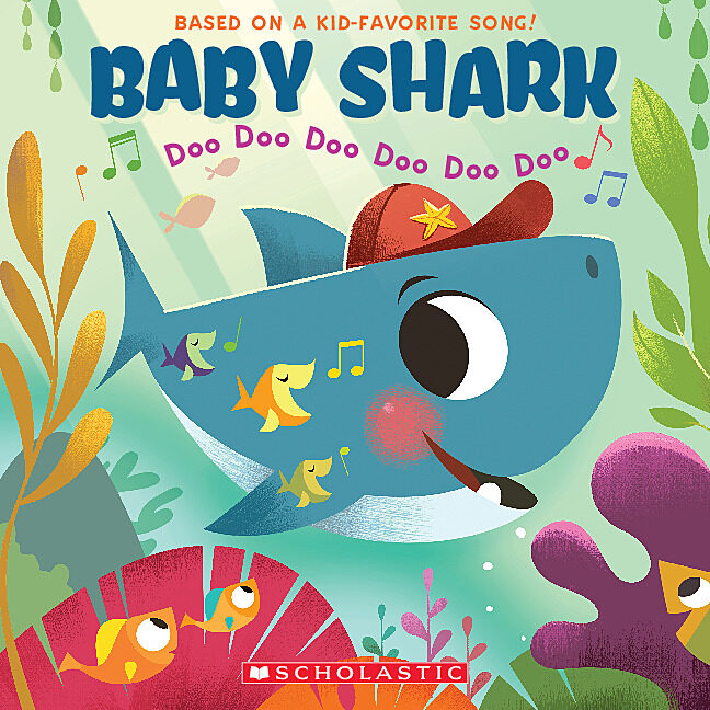 Baby Shark By Scholastic Paperback Book The Parent Store