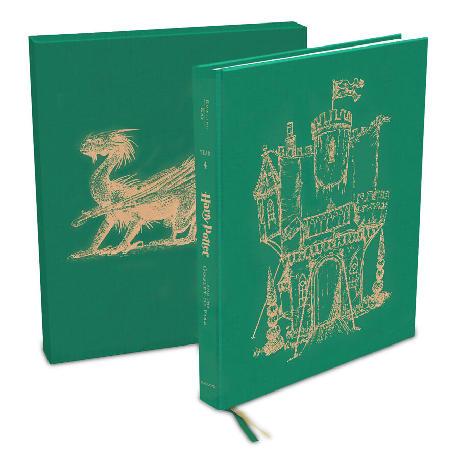 J. K. Rowling - Harry Potter and the Goblet of Fire, the Illustrated Edition (Collector's Edition)