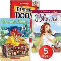 Raise a Reader Set: Super Series Chapter Books (Ages 6-8)