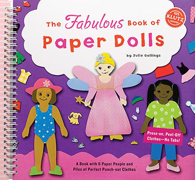 Julie Collings - The Fabulous Book of Paper Dolls