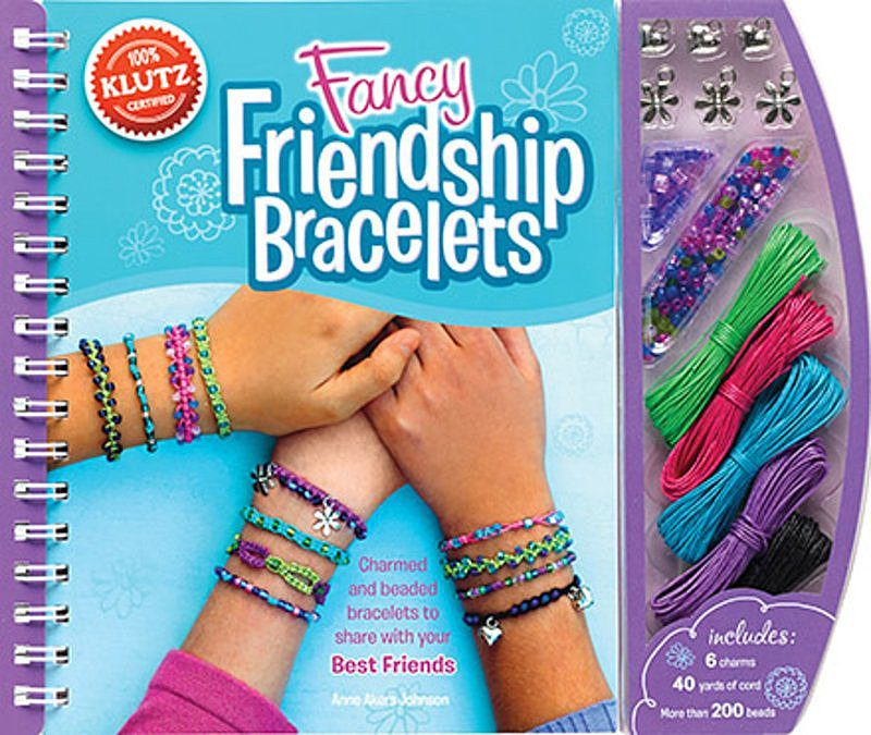 Anne Akers Johnson - Fancy Friendship Bracelets