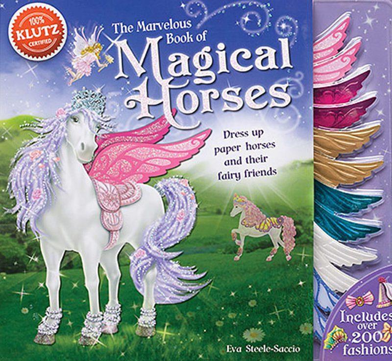 Eva Steele-Saccio - Marvelous Book of Magical Horses