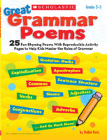 25 Great Grammar Poems With Activities