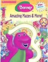 Barney: Barney's Amazing Mazes & More! Wipe Clean Activity Book