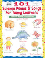 101 Science Poems & Songs for Young Learners