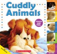 Cuddly Animals: A Tabbed Touch-and-Feel Book