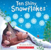 Ten Shiny Snowflakes