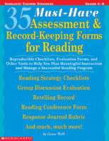 35 Must-Have Assessment and Record-Keeping Forms for Reading