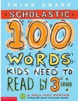 100 WORDS WORKBOOK: 3RD GRADE