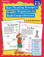 Ready-to-Go Reproducibles: Short Reading Passages & Graphic Organizers to Build Comprehension: Grades 4-5