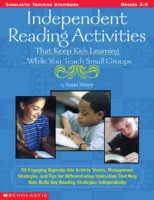 INDEPENDENT READING ACTIVITIES THAT KEEP KIDS LEARNING...WHILE YOU TEA