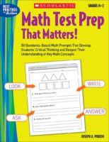 Math Test Prep That Matters! Grades K-2