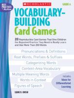 Vocabulary-Building Card Games: Grade 6