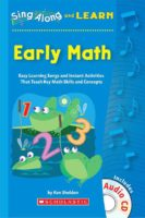 Sing Along and Learn: Early Math Kit