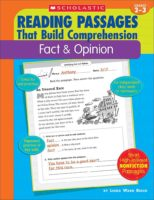 Reading Passages That Build Comprehension: Fact & Opinion