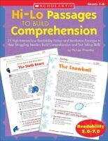 Hi-Lo Passages to Build Reading Comprehension: Grades 7-8