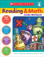 Reading & Math Jumbo Workbook