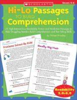 Hi-Lo Passages to Build Reading Comprehension: Grades 5-6