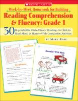 Week-by-Week Homework for Building Reading Comprehension & Fluency: Grade 1