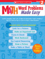 Math Word Problems Made Easy: Grade 2