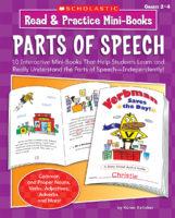 Read & Practice Mini-Books: Parts of Speech