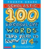 100 Words Workbook: Vocab 4th Grade