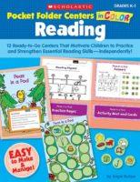 Pocket-Folder Centers in Color: Reading K-1