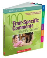 100 Trait-Specific Comments, Middle School