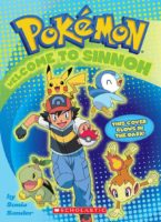 Pokemon: Welcome to Sinnoh Activity Book