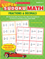 Super Sudoku Math: Fractions & Decimals
