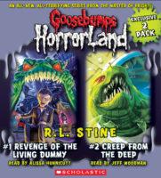 Goosebumps HorrorLand #1 & #2: Revenge of the Living Dummy / Creep from the Deep- Audio, Fairs Edition