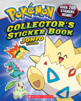 Pokemon: Collector's Sticker Book: Johto Edition