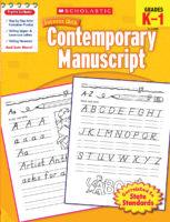 Scholastic Success with Contemporary Manuscript, Grades K-1