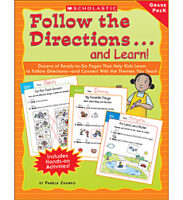 Follow the Directions... and Learn! Grade: PreK