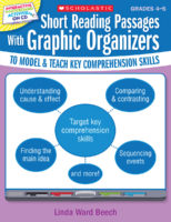 Interactive Whiteboard Activities: Short Reading Passages with Graphic Organizers to Model and Teach Key Comprehension Skills: Grades 4-5