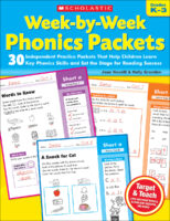 Week-by-Week Phonics Packets