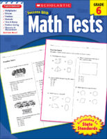 Scholastic Success with Math Tests, Grade 6