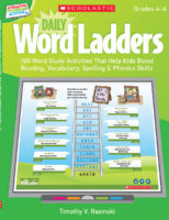 Interactive Whiteboard Activities: Daily Word Ladders (Gr. 4-6)