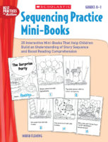 Sequencing Practice Mini-Books Grades K-1